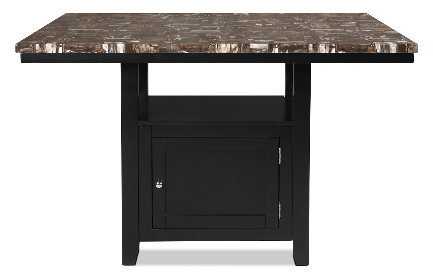 Vale counter height dining table with storage the brick for The brick kitchen tables