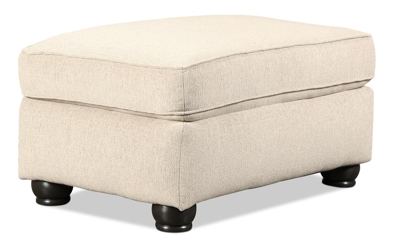 Living Room Furniture - Metro Ottoman - Sand