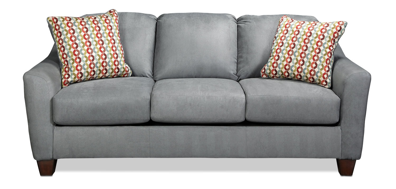Moroni Queen Sleeper Sofa - Lagoon