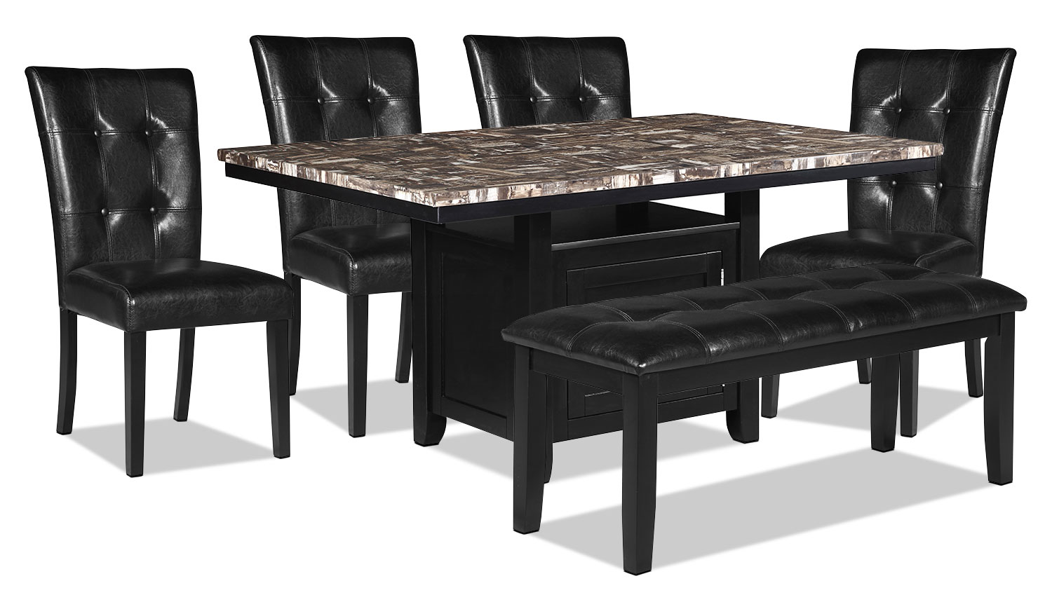 Vale 6-Piece Dining Package