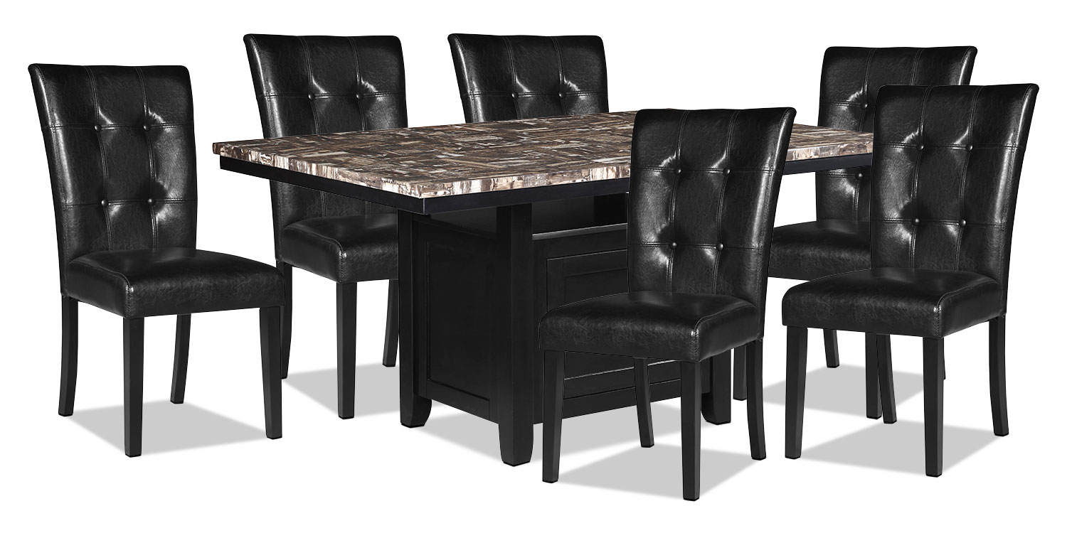 Dining Room Furniture - Vale 7-Piece Dining Package