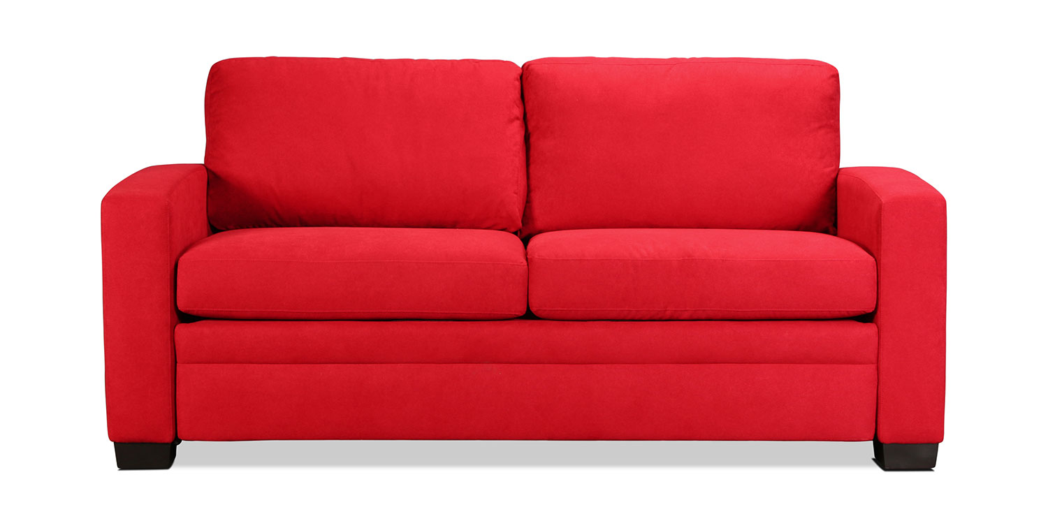 Levin Signature Queen Sleeper Sofa - Chili Red