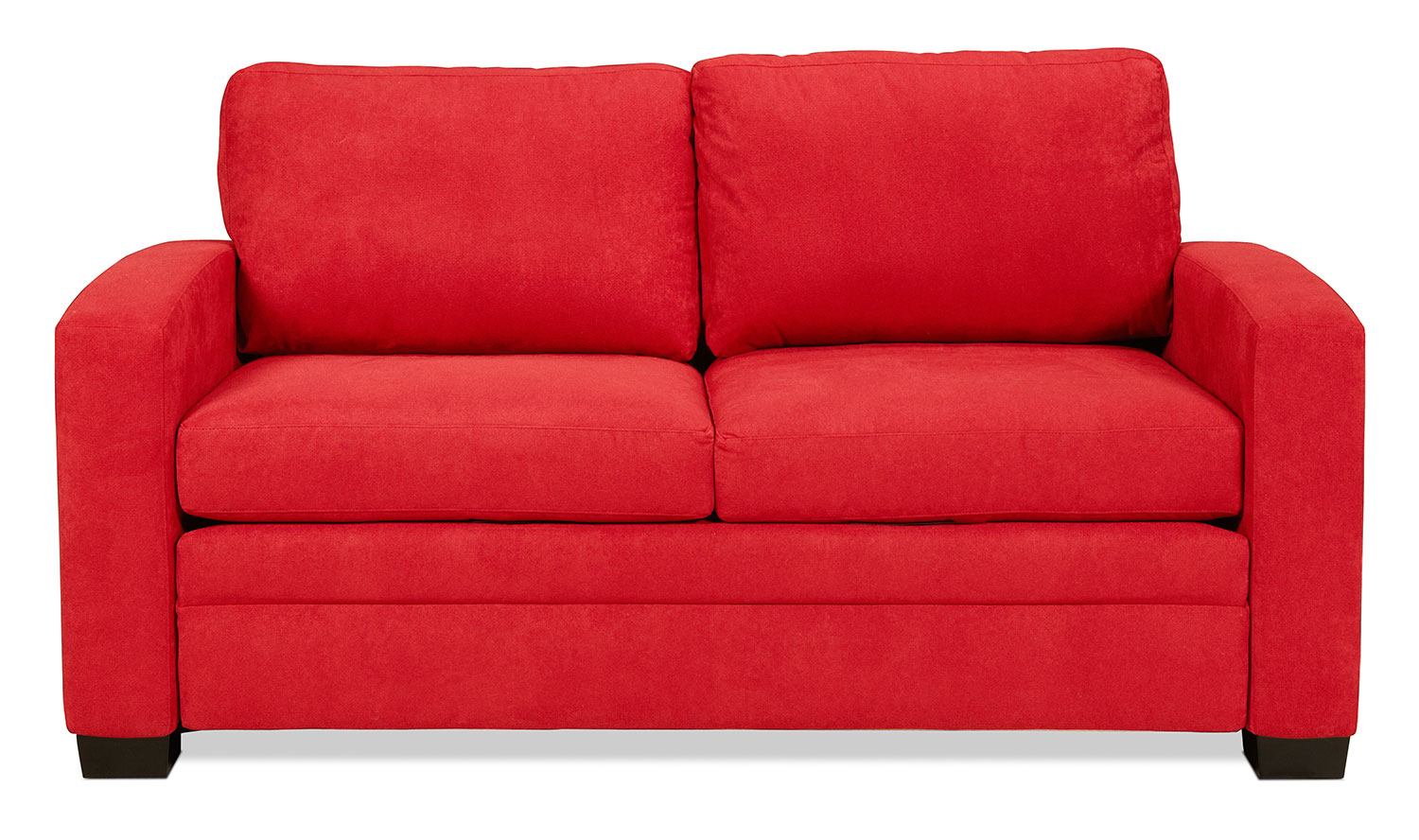 Levin Signature Full Sleeper Sofa - Chili Red