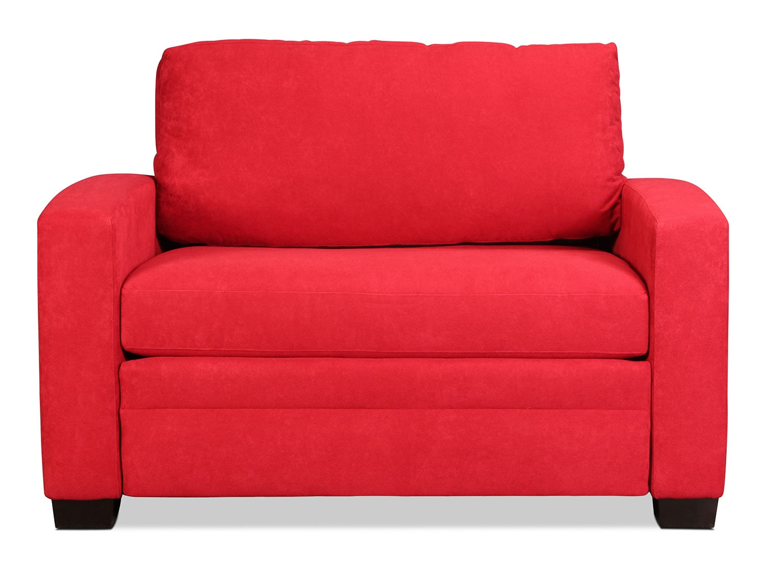 Levin Signature Twin Sleeper Chair - Chili Red