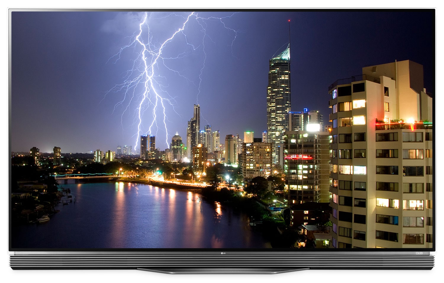 "Televisions - LG 55"" E6 OLED 4K UHD Smart Television"