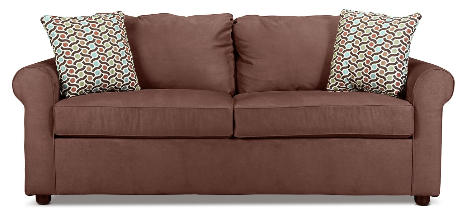Freedom Queen Sleeper Sofa - Chocolate