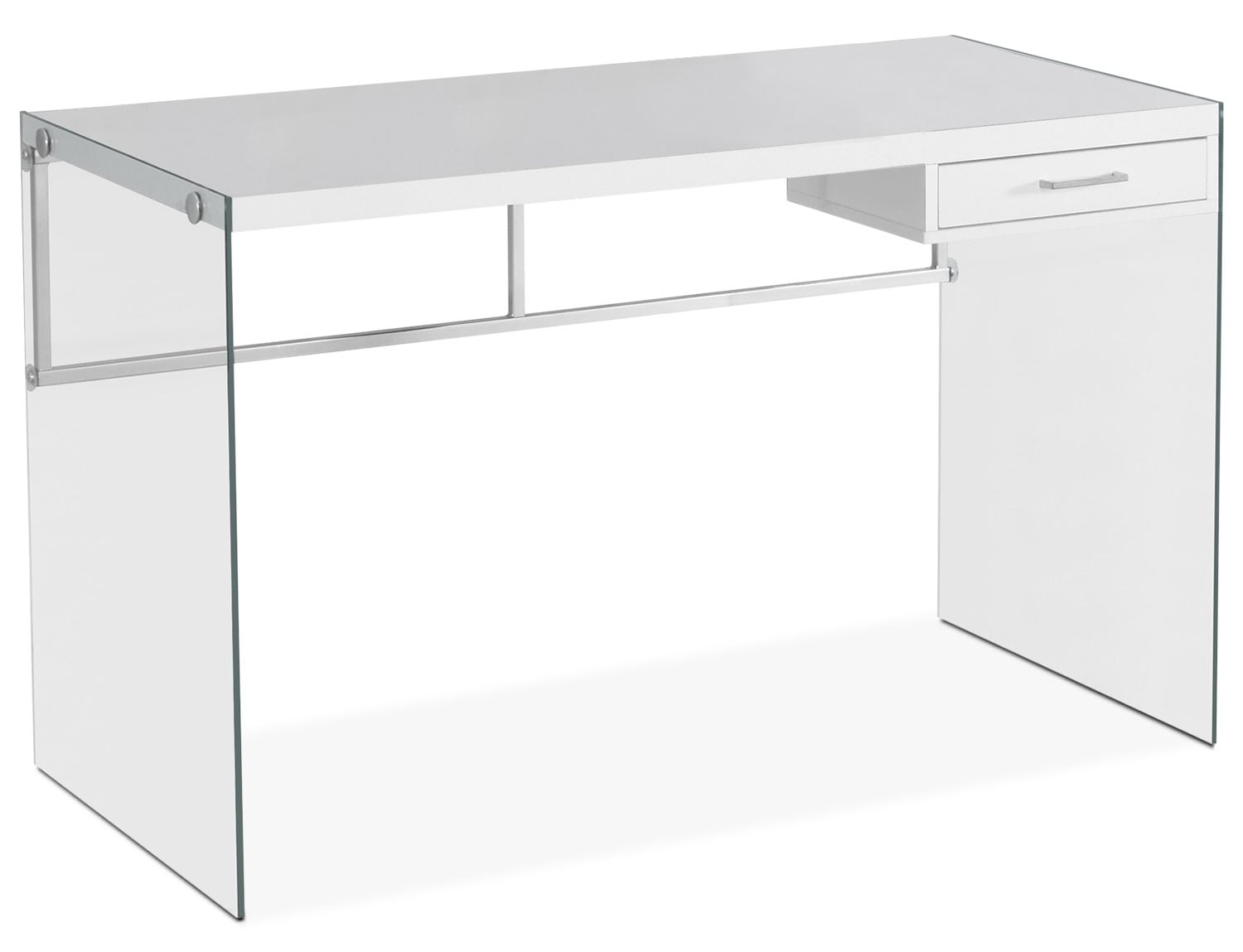 Home Office Furniture - Kylie Computer Desk – White