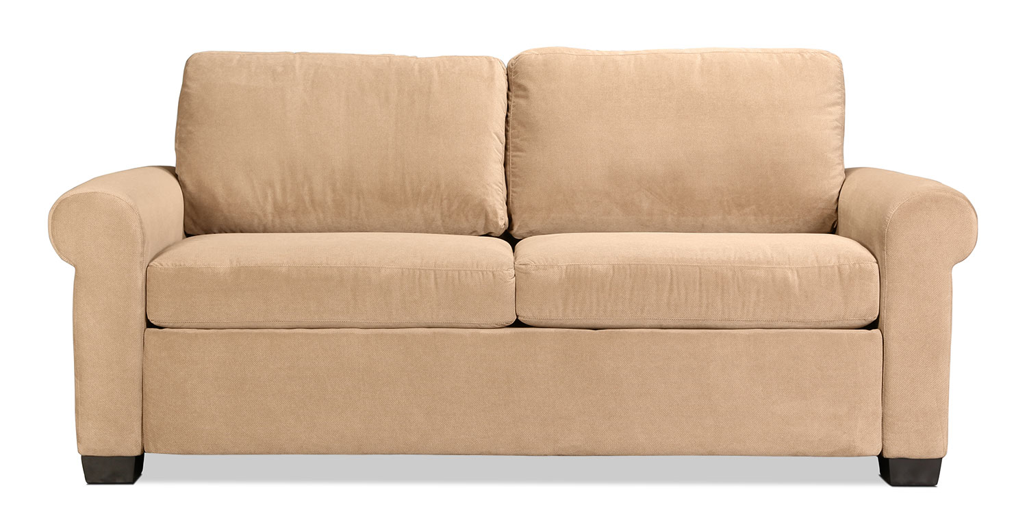 Levin Signature Queen Sleeper Sofa - Brownstone