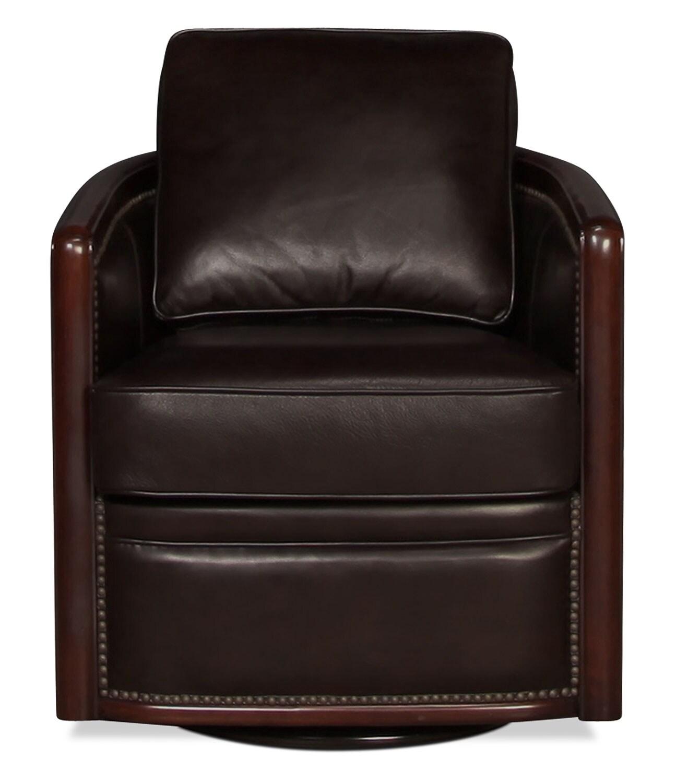 Harper Tub Swivel Chair - Merlot