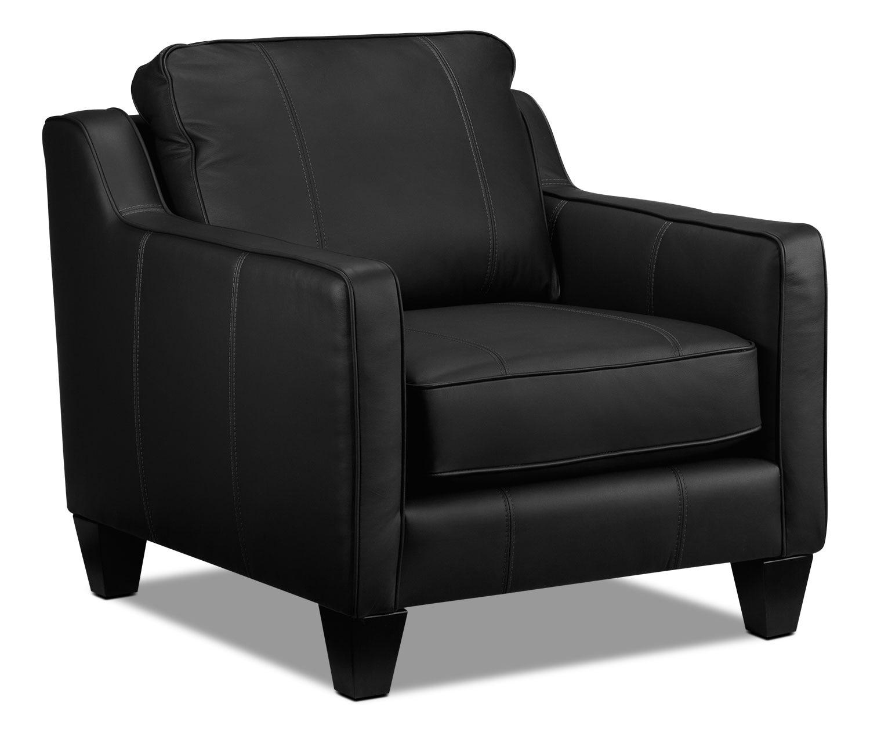 Living Room Furniture - Selinda Chair - Black