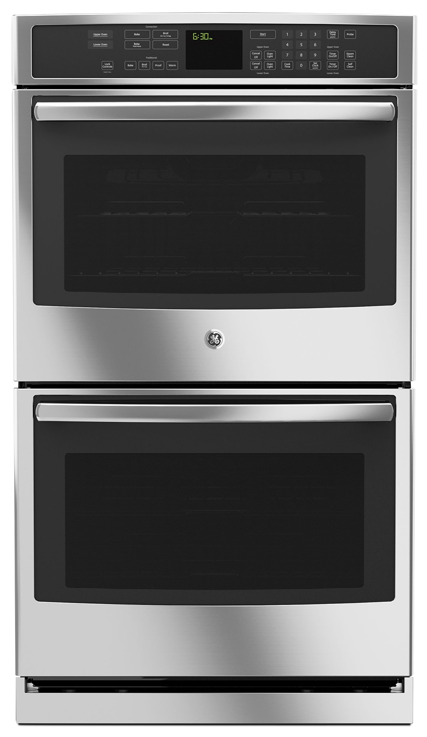 Cooking Products - GE 10 Cu. Ft. Double Wall Oven – PT7550FSS