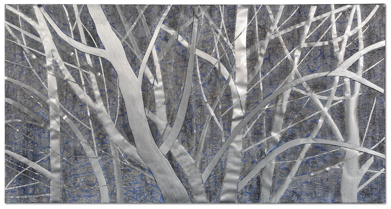 "White Winter Canvas Art (60"" X 30"")"