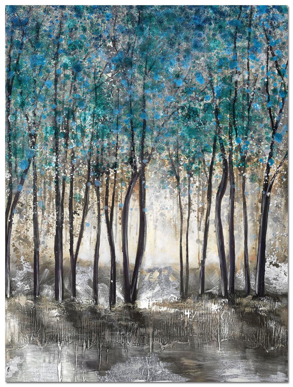 "Blue Grove Canvas Art (36"" X 48"")"