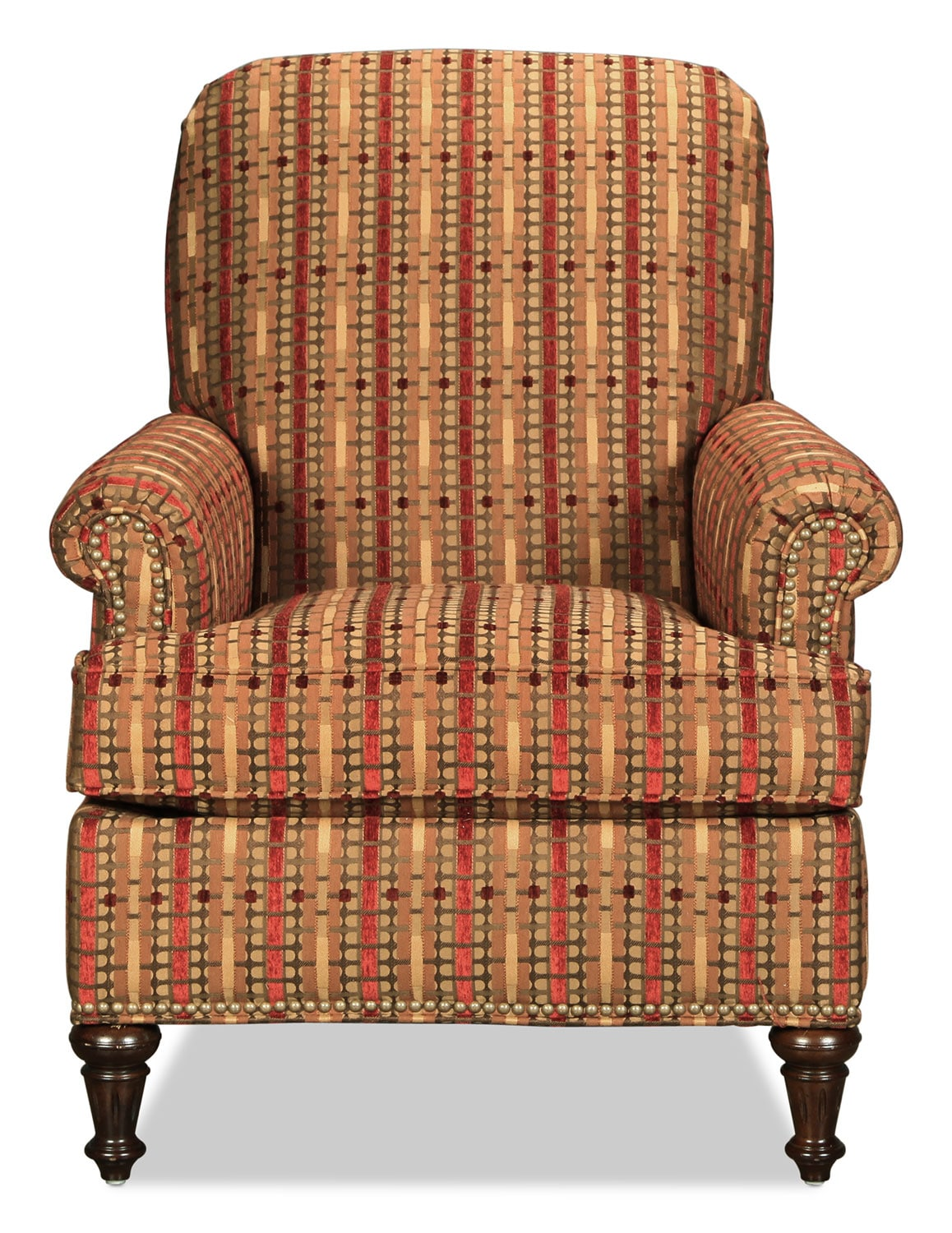 Sloan Accent Chair - Striped