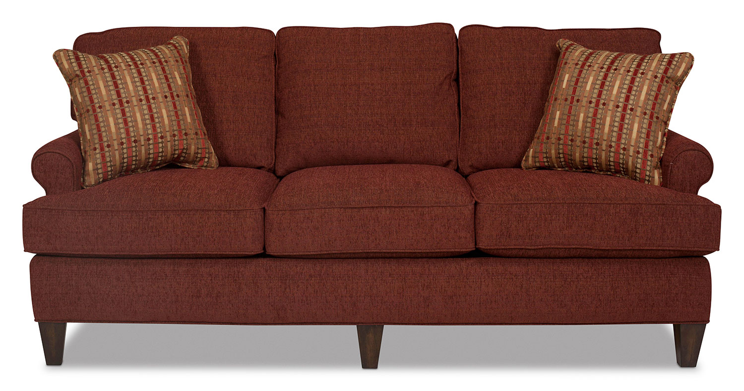Sloan Sofa - Burgundy
