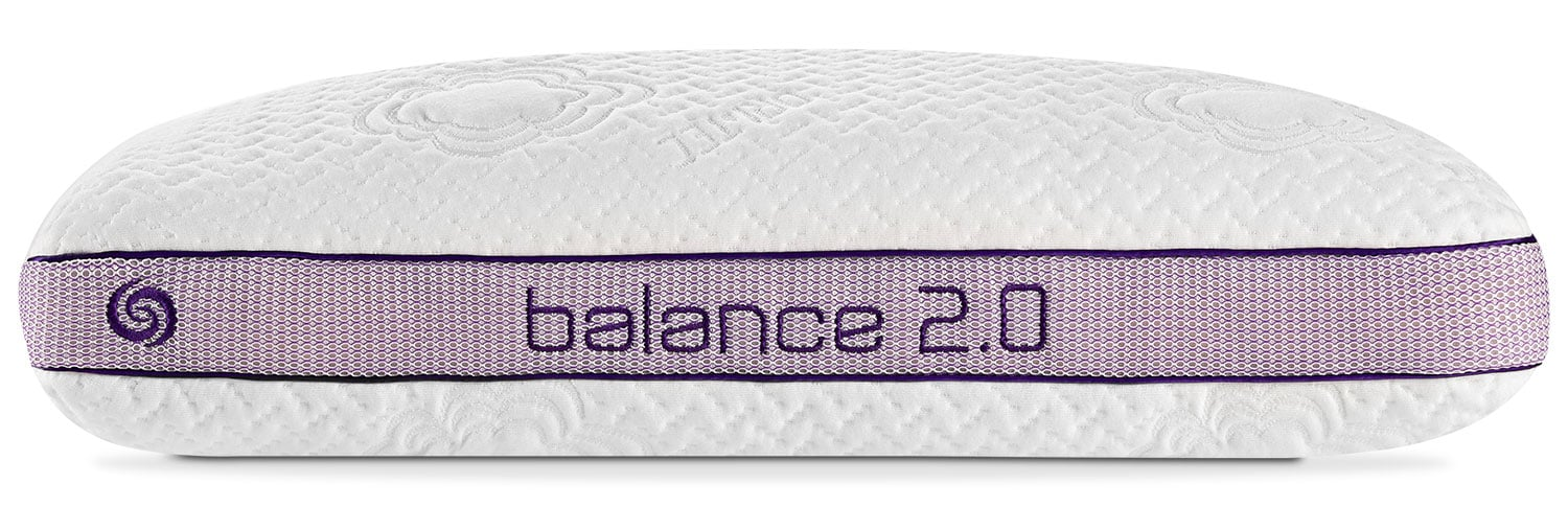 Mattresses and Bedding - Bedgear™ Balance® 2.0 Back Sleeper Pillow – Queen