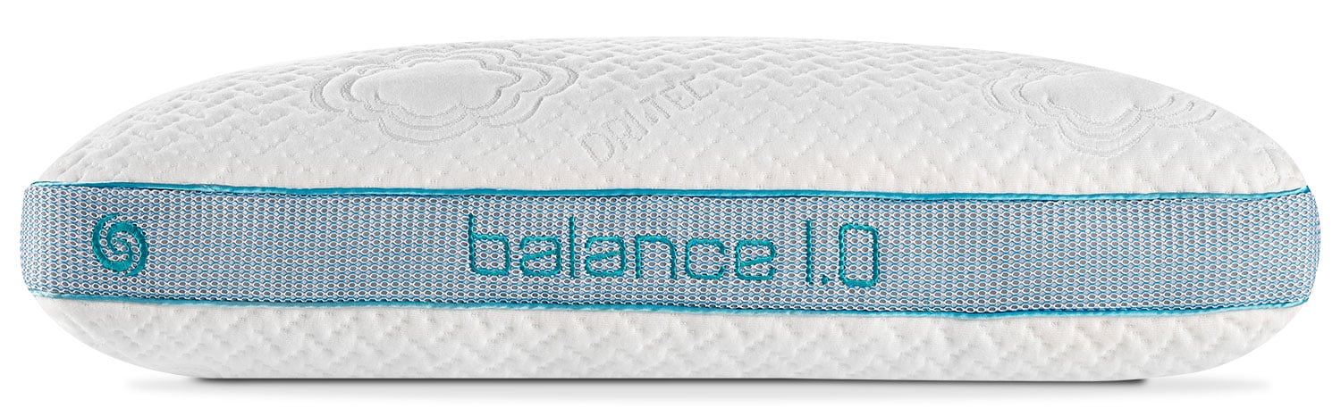 Mattresses and Bedding - Bedgear™ Balance® 1.0 Stomach Sleeper Pillow – Queen