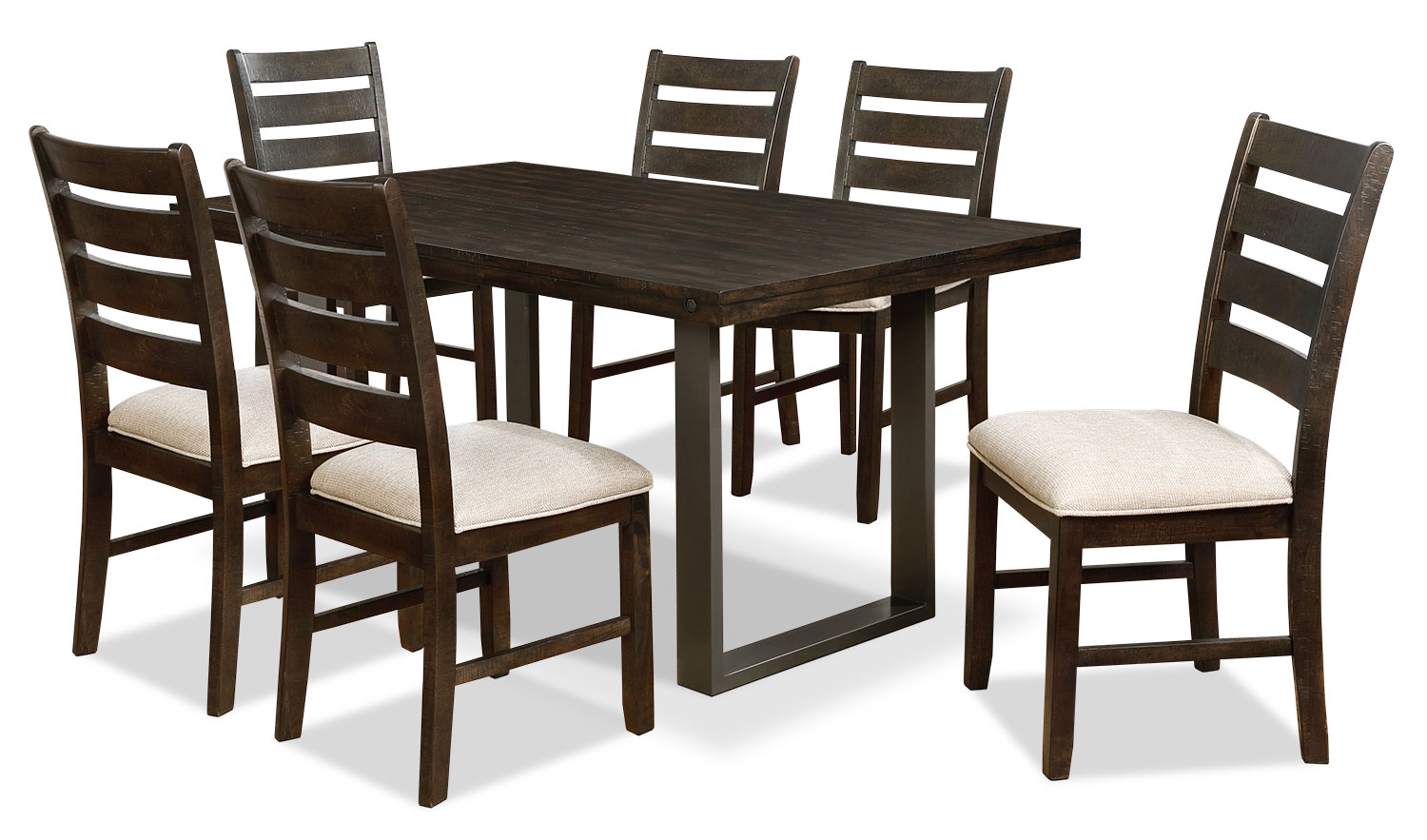 Dining Room Furniture - Jasper 7-Piece Dining Package