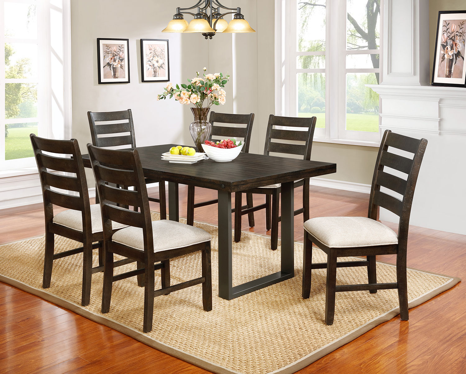 Rubberwood Kitchen Table Jasper Dining Table The Brick