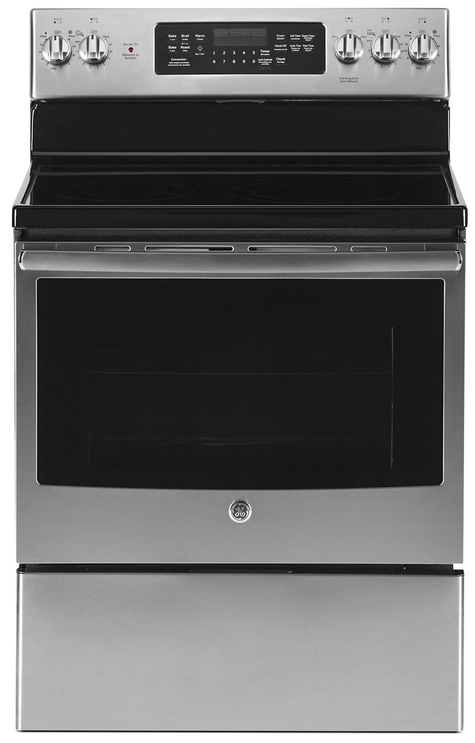 GE 5.0 Cu. Ft. Freestanding Electric Range – JCB840SKSS
