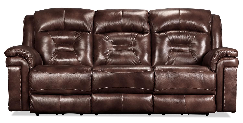 Sofas levin furniture for Bella chaise dark brown