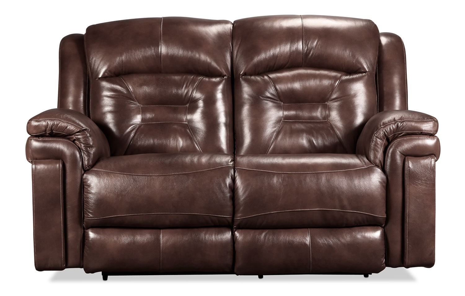 Mystify Power Reclining Loveseat - Brown
