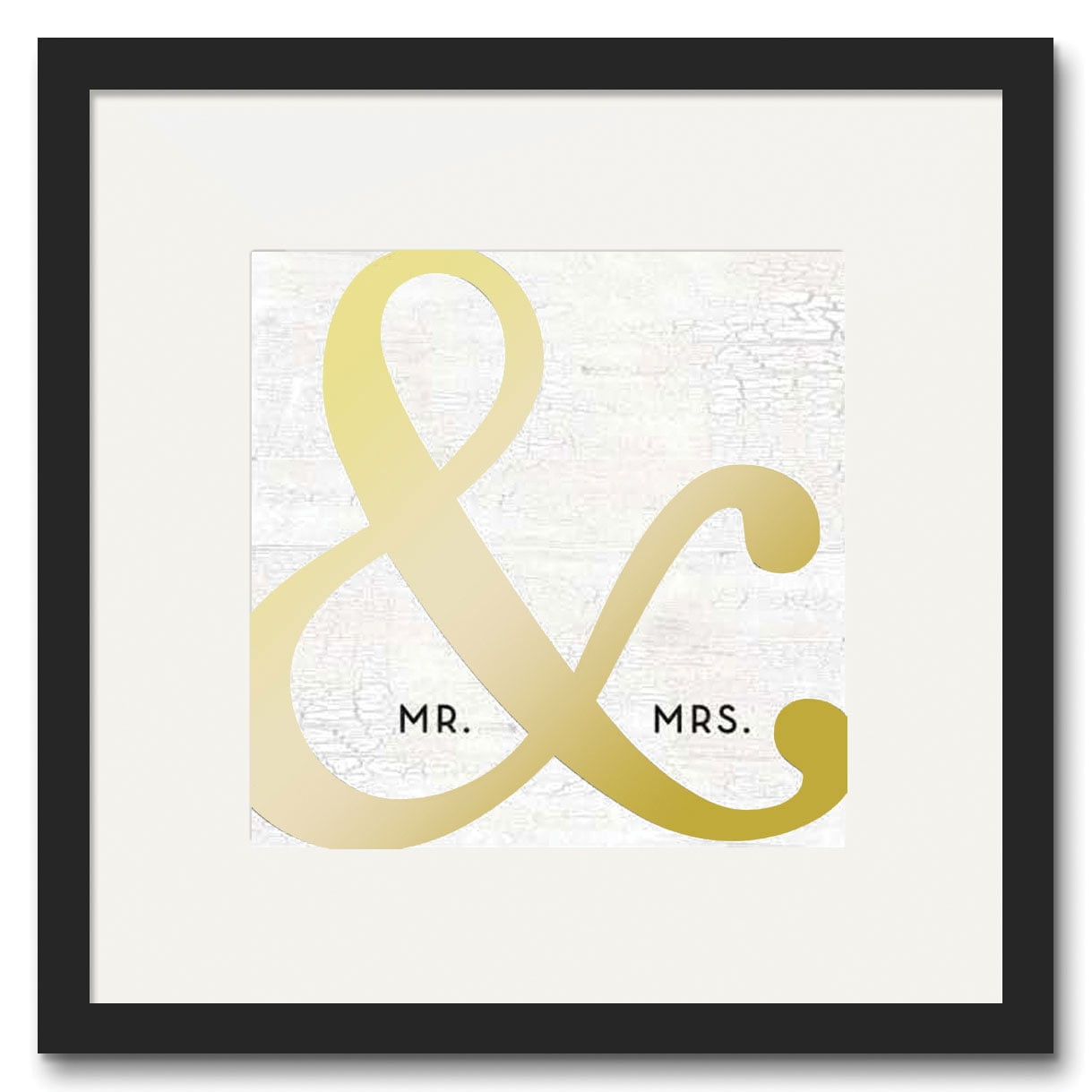 "Accent and Occasional Furniture - Mr. & Mrs. Canvas Art (16"" X 20"")"