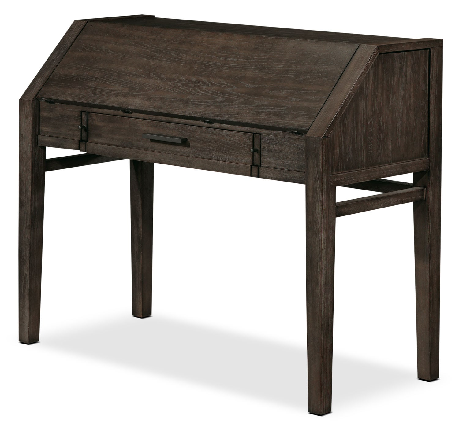 Bravo Secretary Desk - Platinum Oak