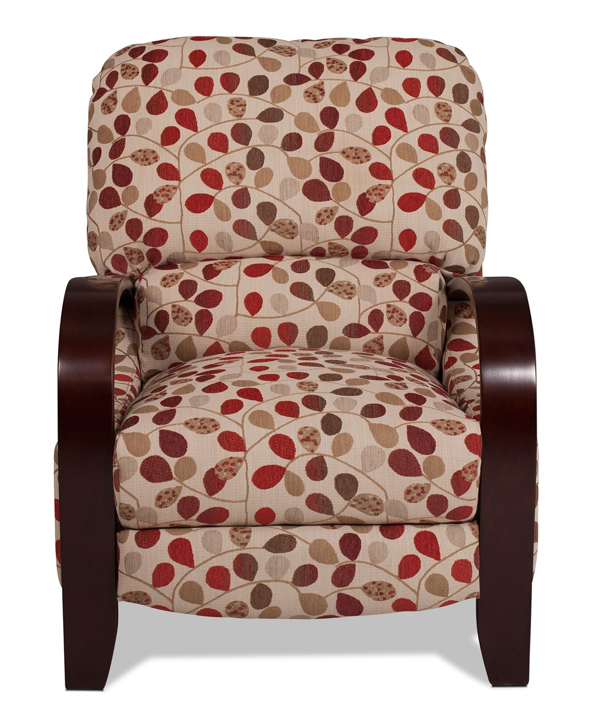 Living Room Furniture - Camas High-Leg Recliner - Floral