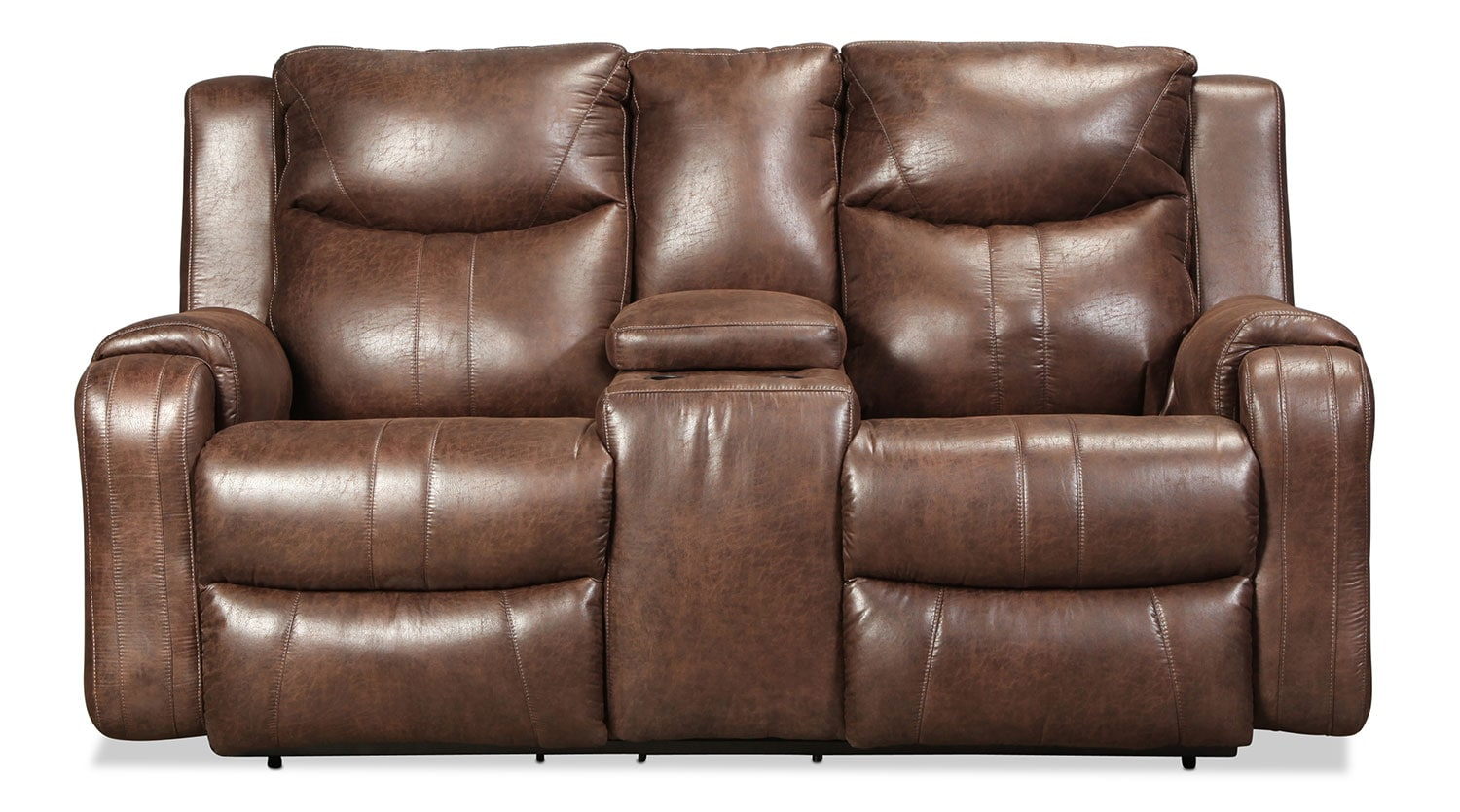 Buhl Reclining Loveseat - Sable