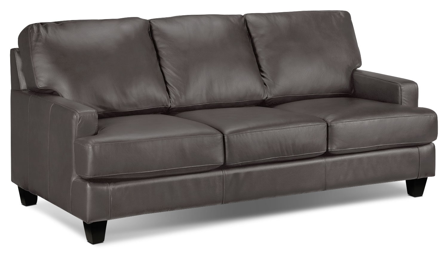 Living Room Furniture - Janie Sofa - Ash