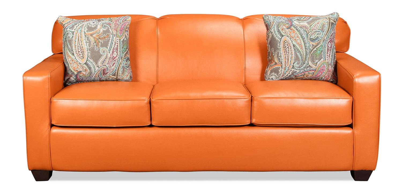 Sannabell Queen Sleeper Sofa - Sherbet