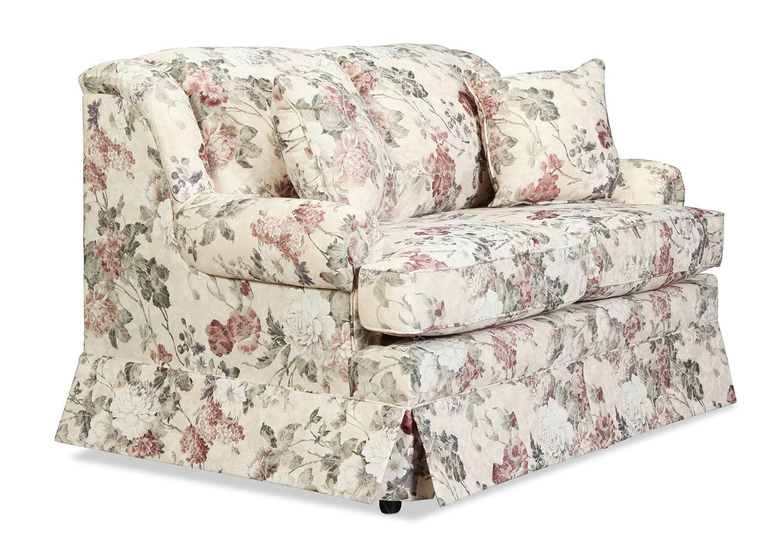 Sofia Loveseat Floral Levin Furniture