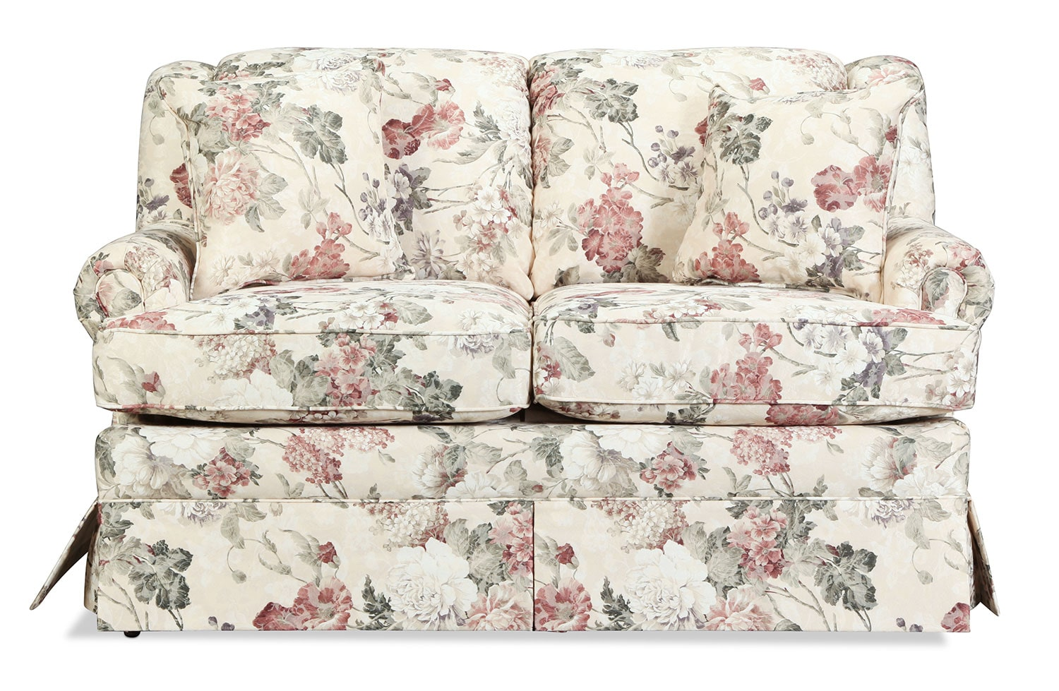 Living Room Furniture - Sofia Loveseat - Floral