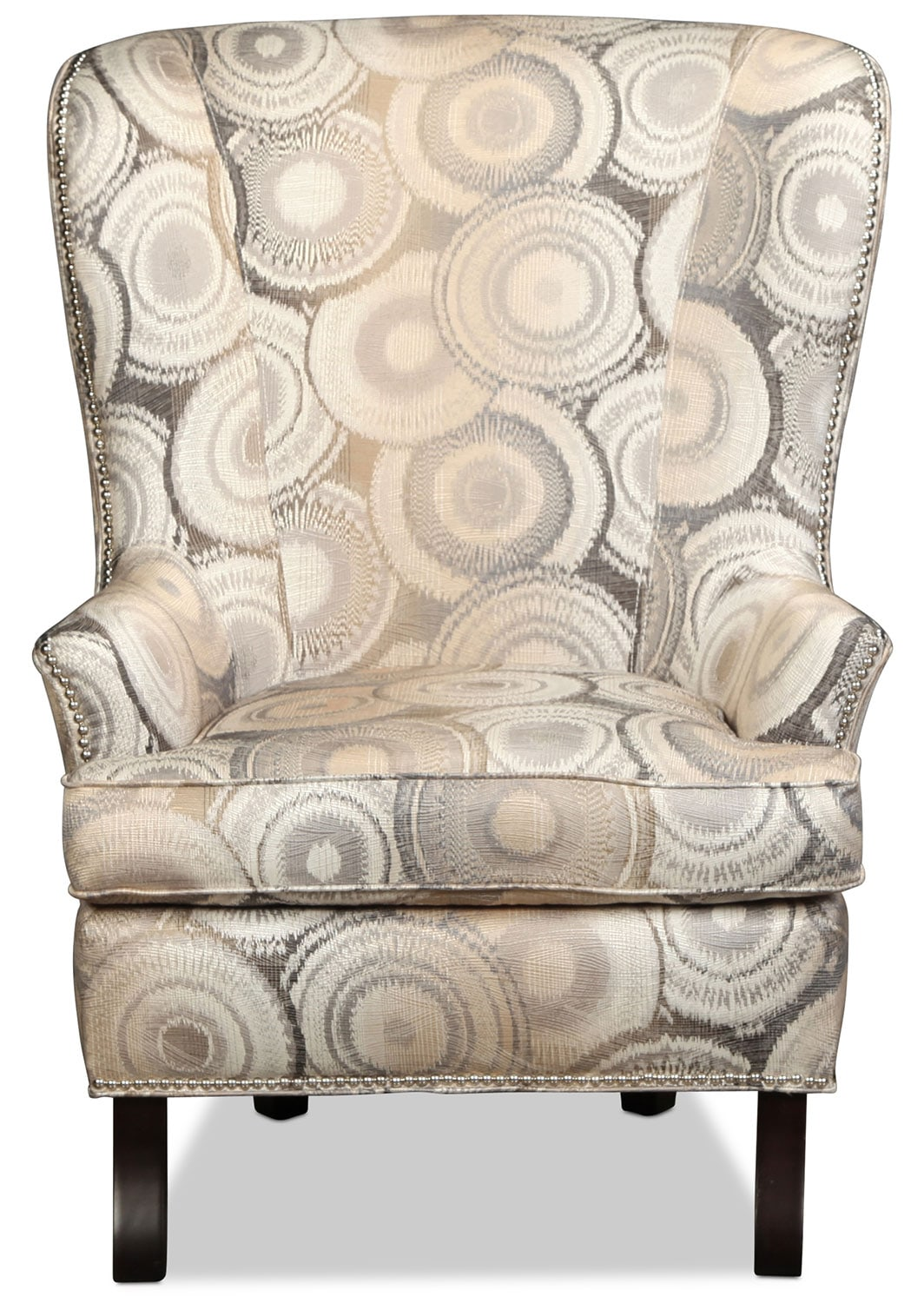 Living Room Furniture - Eden Accent Chair - Geometric