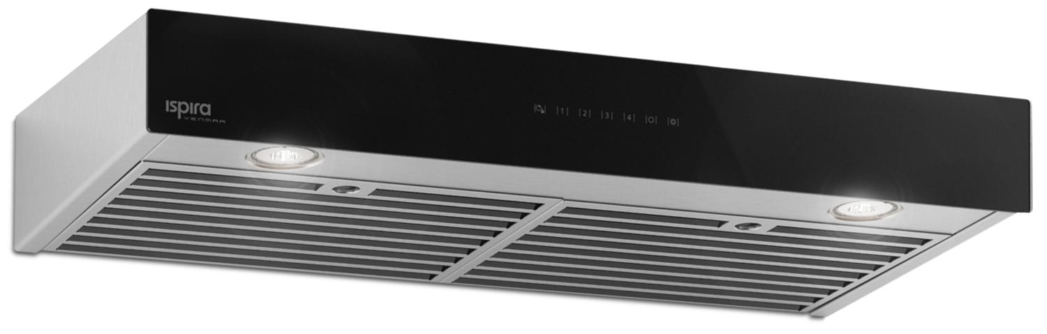 "Venmar 36"" Under-Cabinet Range Hood – Black Panel IU600ES36BL"