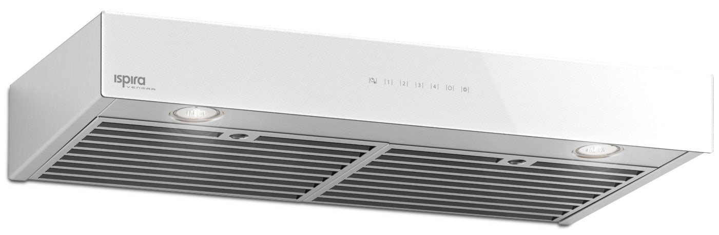 "Cooking Products - Venmar 36"" Under-Cabinet Range Hood – White Panel IU600ES36WH"