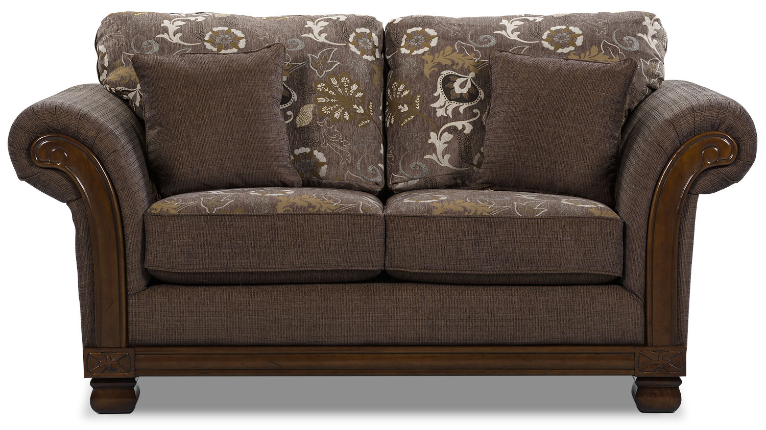 Hazel chenille full size sofa bed quartz the brick Chenille sofa and loveseat