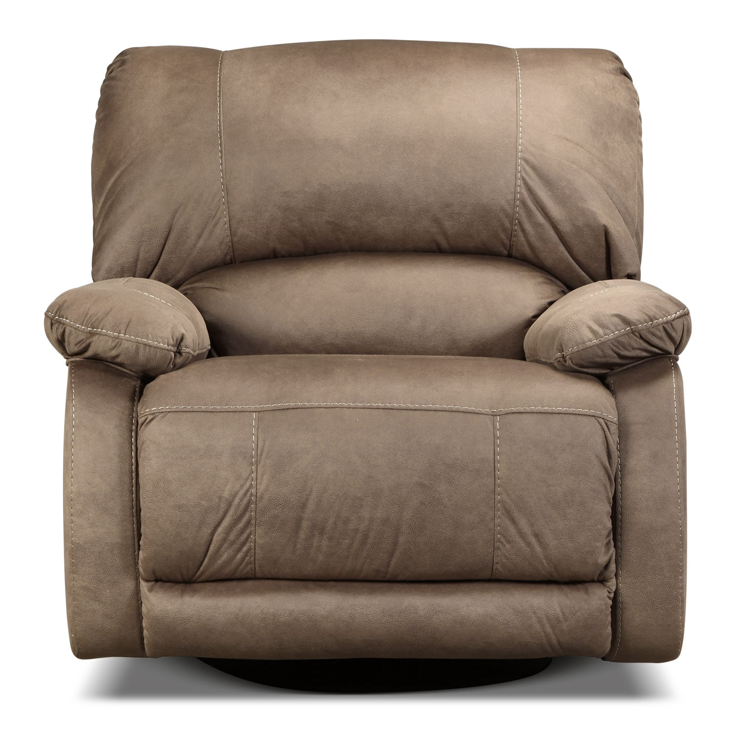 Newhall Swivel Glider Recliner - Taupe