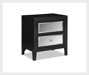 Bonita Nightstand - Black