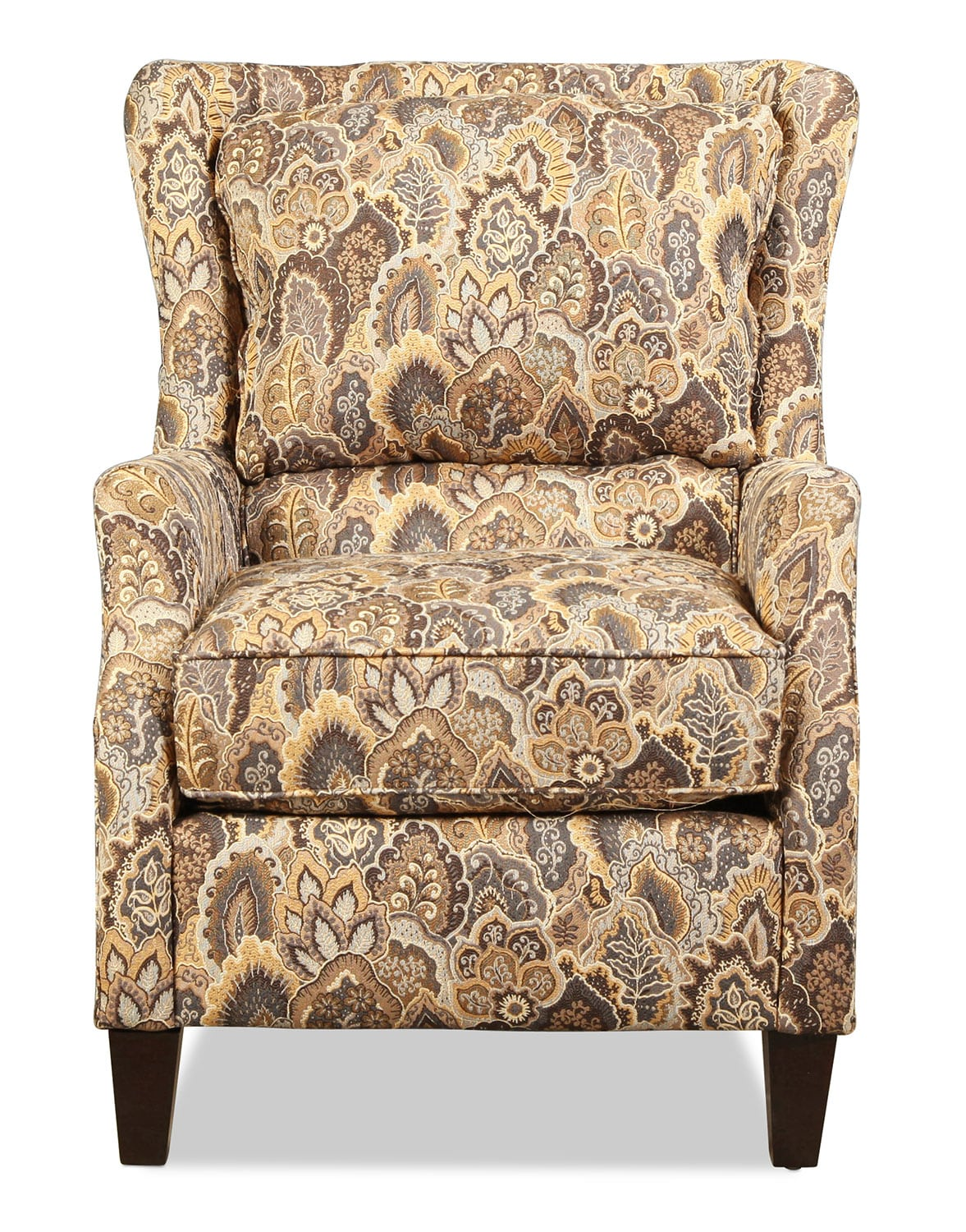 Living Room Furniture - Murphy Accent Chair - Peacock