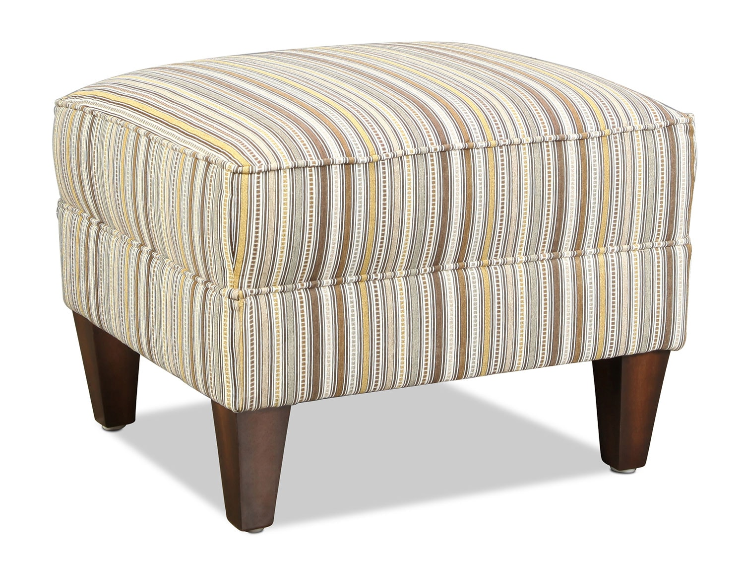 Lonsdale Accent Ottoman - Striped