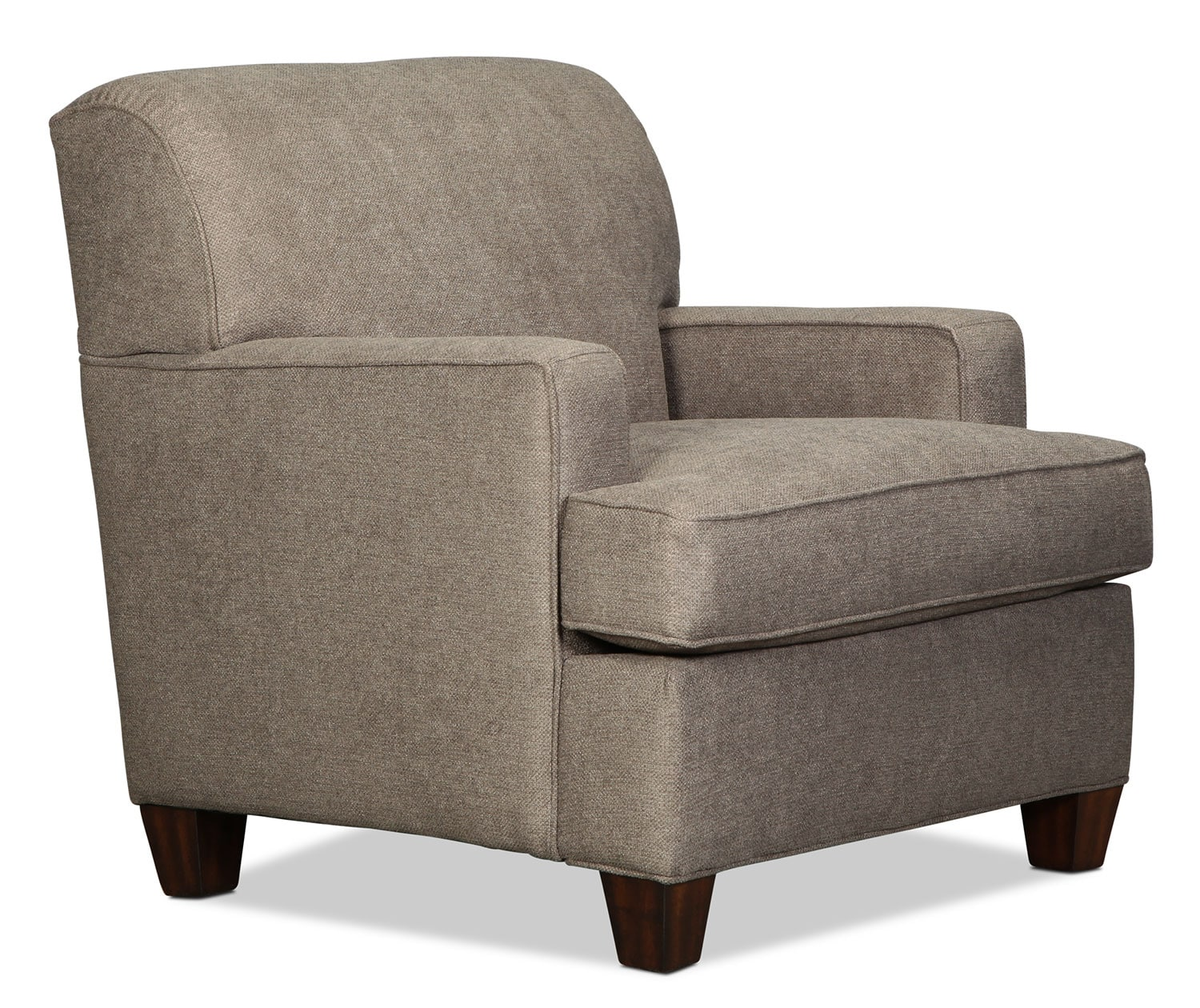 Lonsdale chair tan levin furniture for Levin furniture living room chairs