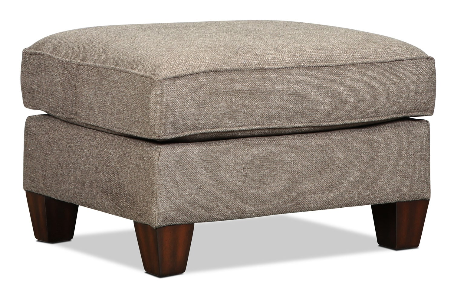 Living Room Furniture - Lonsdale Ottoman - Tan