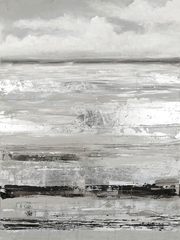 "Shades of Grey Canvas Art (36"" X 48"")"