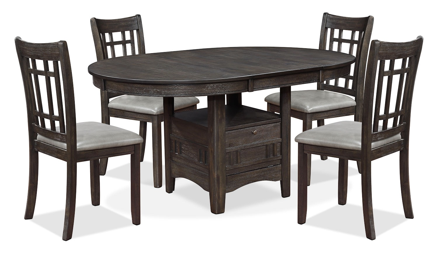 Dining Room Furniture - Dana 5-Piece Dining Package