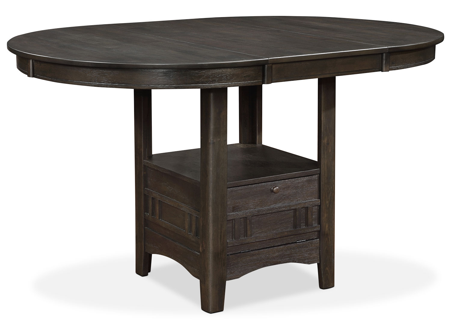 Dana counter height dining table the brick for Dining room tables the brick