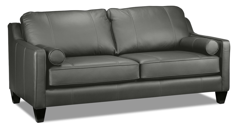 Living Room Furniture - Selinda Sofa - Charcoal