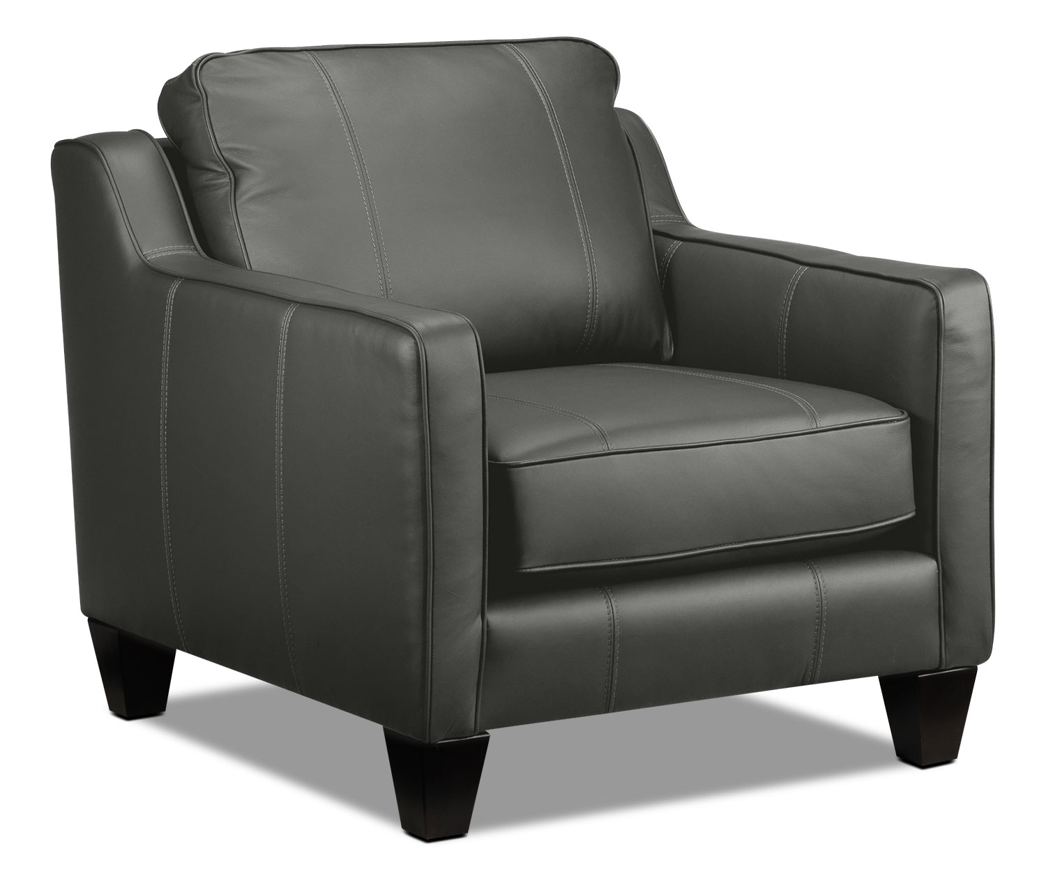 Living Room Furniture - Selinda Chair - Charcoal