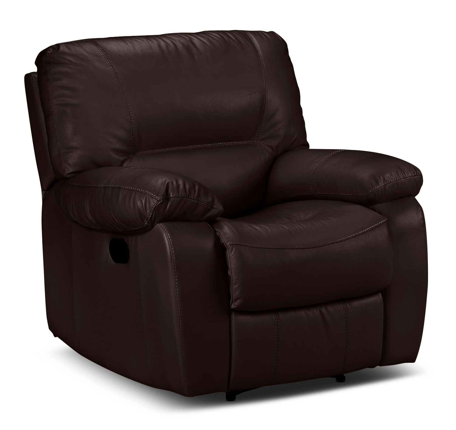 Living Room Furniture - Piermont Recliner - Chocolate